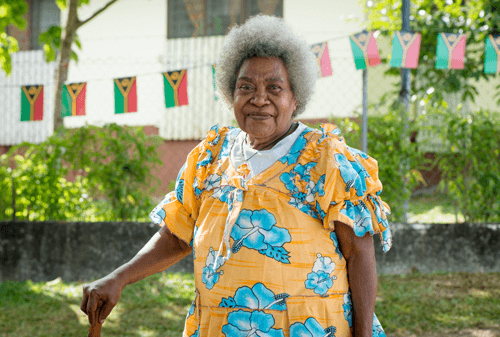 Woman from Vanuatu